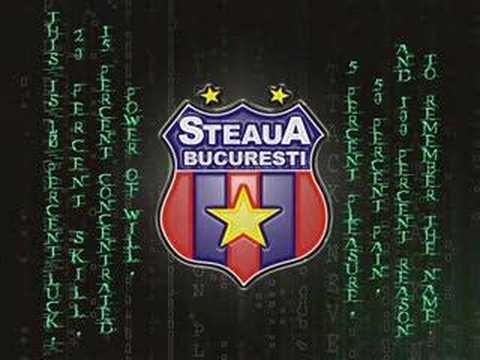 Steaua(cel mai tare video)