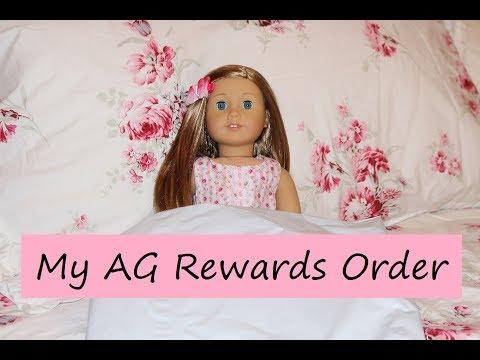 My American Girl Doll Rewards!
