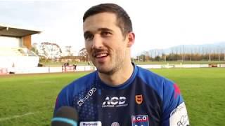 Rugby : la réaction de Charly Chantereau après la victoire du FC Oloron face à Nafarroa