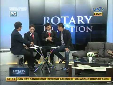 Rotary in Action TV Guesting (July 2, 2014)