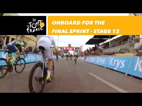 Onboard camera of the final sprint - Sequence of the day - Stage 13 - Tour de France 2018