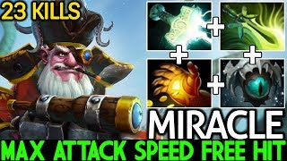 Miracle- [Sniper] Carry Safelane Max Attack Speed Free Hit WTF Plays 7.22 Dota 2
