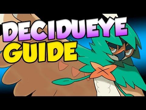 HOW TO USE DECIDUEYE! Pokemon Sun and Moon Decidueye Moveset Guide!