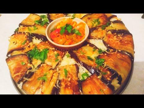 ستعشقين-أكل-البادنجان-بهذه-الطريقة-😋-un-vrai-délice-recette-d'aubergines-farcies-aux-légumes
