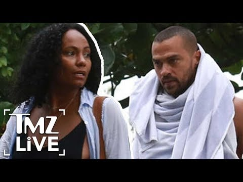 Jesse Williams  New Girlfriend Revealed? | TMZ Live