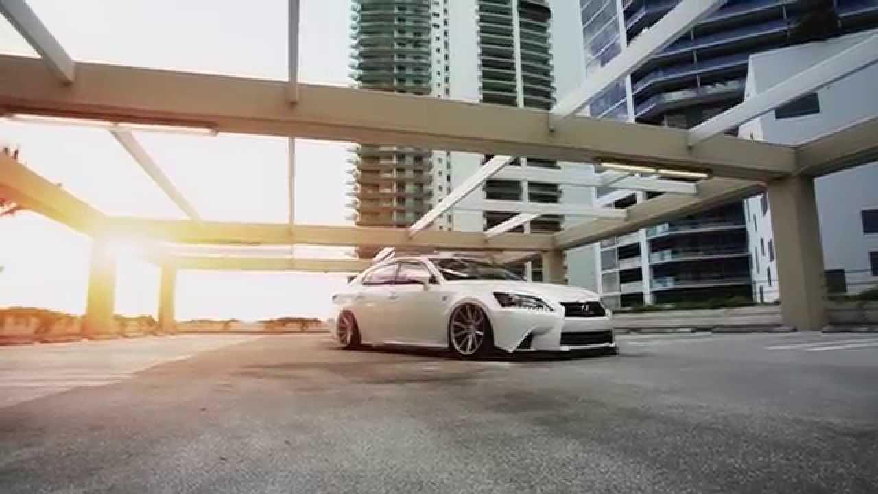 "Lexus GS 350 F-Sport | Vossen 20"" VFS-1 Concave Wheels ..."