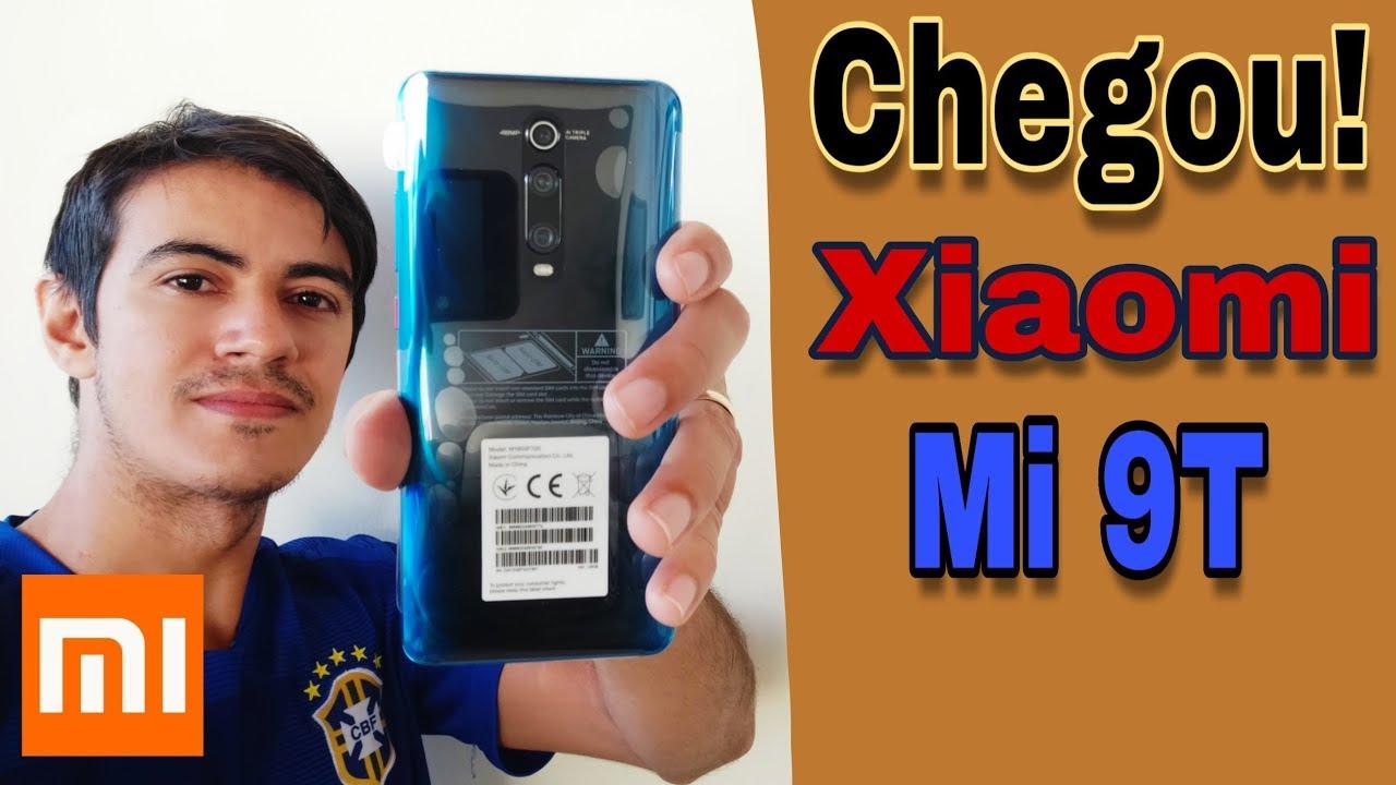 recebi um Xiaomi mi 9T do Aliexpress | unboxing português Br.