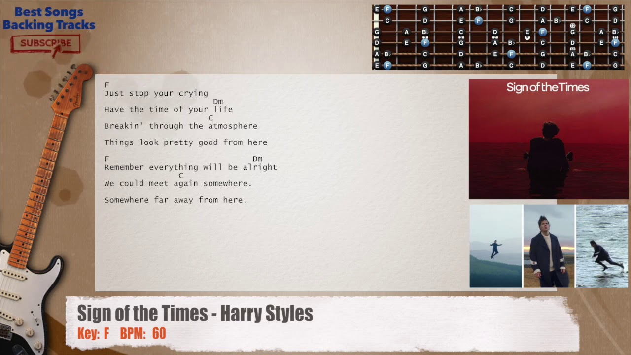 Sign of the times harry styles guitar backing track with chords sign of the times harry styles guitar backing track with chords and lyrics hexwebz Choice Image
