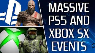 Sony & Microsoft Are about To Go HEAD TO HEAD With MASSIVE PS5 & Xbox Series X Events | NEW GAMES