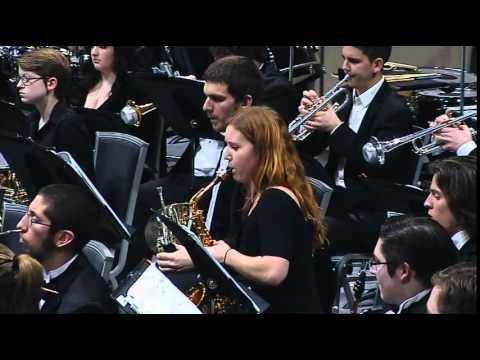 "CWU Wind Ensemble ""Symphony 4"" by David Maslanka"