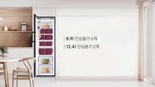 삼성 BESPOKE 비스포크 김치냉장고 1도어 RQ32…