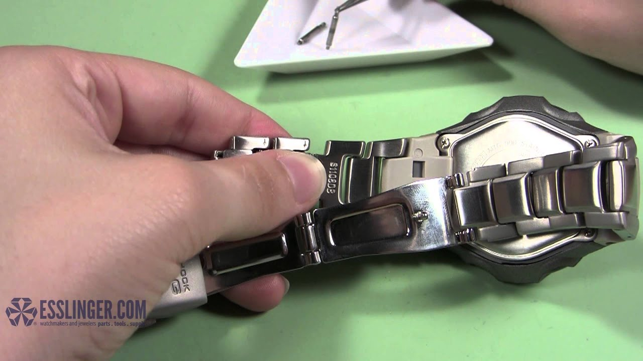 Awesome How To Remove Spring Bar Watch Band Links