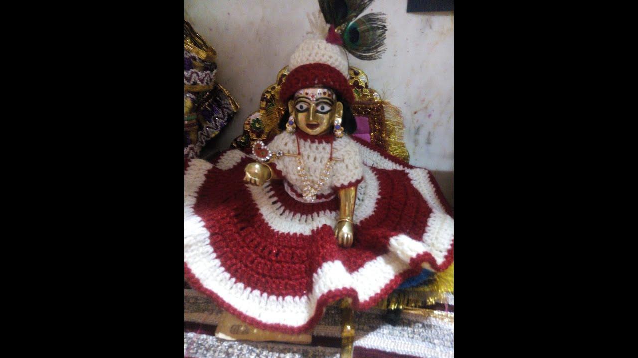 Famous Shri Krishna Thakur ji ki Poshak Images for free download