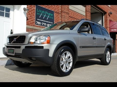 2005 volvo xc90 t6 awd walk around presentation at louis. Black Bedroom Furniture Sets. Home Design Ideas