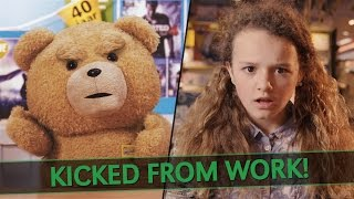 ted kicked from work part 1 with my sister
