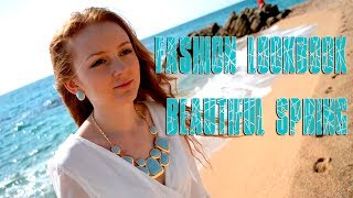 ♥✿ Fashion LOOKBOOK beautiful 3 outfits spring ✿♥