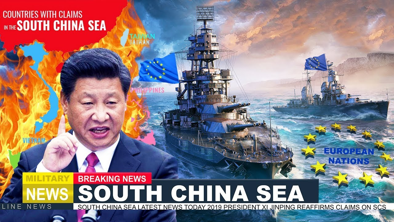 South china sea latest news today: European Nations send warships to SCS Claims by Beijing