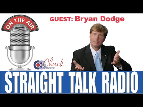 Bryan Dodge - Interview by Chuck Gallagher on Straight Talk Radio