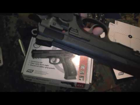 017e1cfc1 Pistolet CZ SP 01 SHADOW Ceska Zbrojovka ASG CO2 4,5 mm 177 cal . - YouTube
