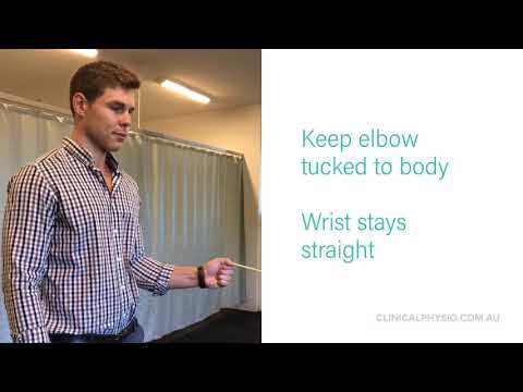 Shoulder Internal Rotation at side