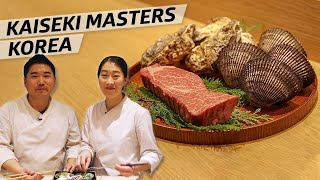 How Two Master Chefs Created a Kaiseki Menu in Seoul, Korea  —Omakase Korea