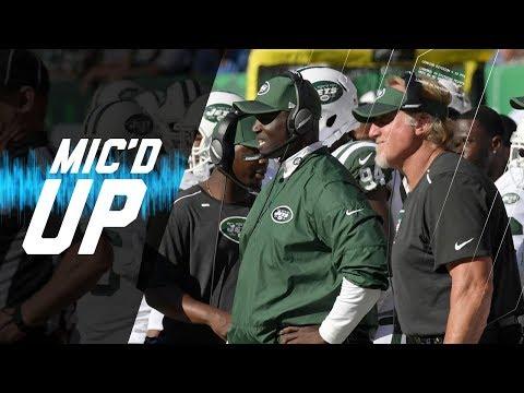 "Todd Bowles Mic'd Up vs. Jaguars ""Let's Blow This Wide Open!"" (Week 4) | NFL Films | Sound FX"
