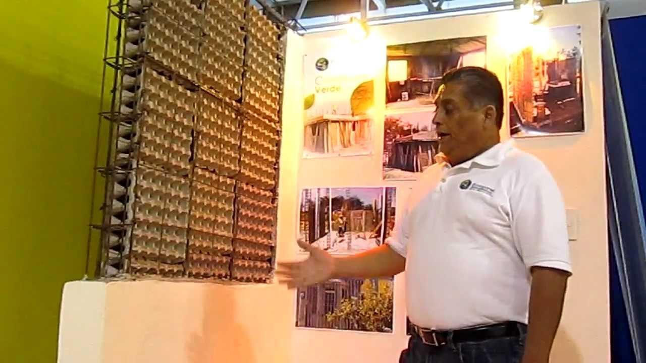 Ecolopanel paneles reciclados youtube - Como calentar un piso de forma economica ...