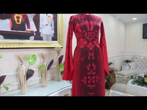 Những mẫu áo dài làm sui 2020 các mẹ không thể bỏ qua   Áo Dài Đỗ Trịnh Hoài Nam
