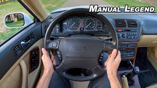 Honda's Clever Answer to German Engineering - 1992 Acura Legend Manual Coupe POV (Binaural Audio)