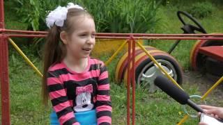 Интервью в детском саду.