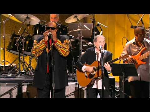 PAUL SIMON AND STEVIE WONDER- LIVE- Me & Julio Down By The Schoolyard