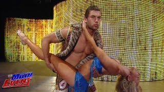Fandango interrupts The Miz: WWE Main Event, Aug. 21, 2013