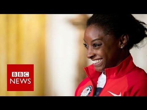 Simone Biles: 'I'm the same crazy gymnast' - BBC News