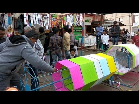 Uttarayan 2017 India(Gujarat | THE KITE FESTIVAL