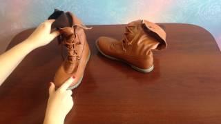 Обзор женских ботинок с AliExpress