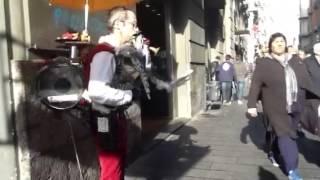 The straniero. Street artist. One man band. Mark Di Giuseppe
