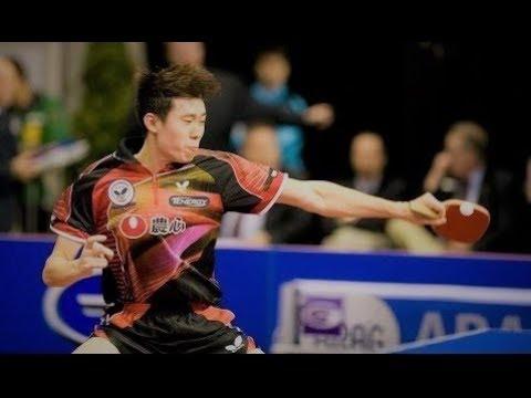 Lee Jung Woo - Left handed J-Pen Player (Penhold Legend)
