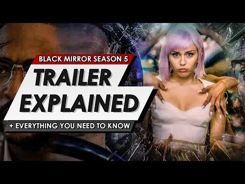 Black Mirror: Netflix: Season 5 Trailer Explained Breakdown   Everything You Need To Know