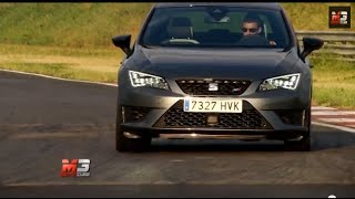 Seat leon cupra 2014 - test drive on track only sound