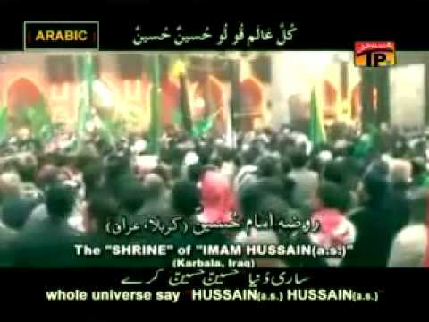 Saari Duniya Hussain Hussain (AS) Kary- Farhan Ali 2011 Noha.flv