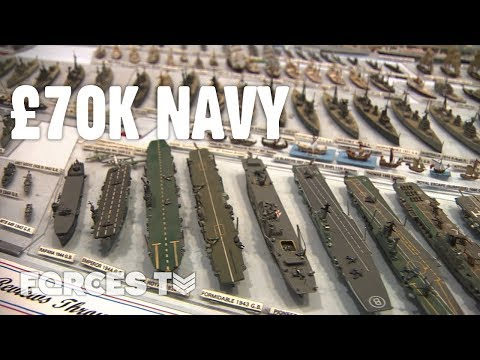 The Model Navy Collection That's Worth £70k • LONDON MODEL ENGINEERING EXHIBITION | Forces TV