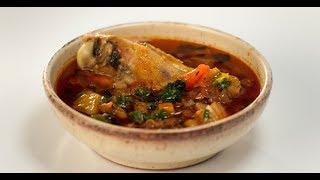 видео Суп с индейкой и фасолью