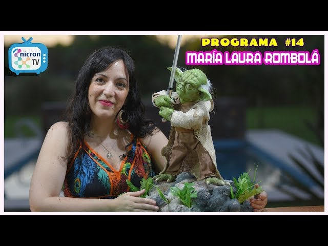 Modelado de Yoda y como realizar un sable de luz | M Laura Rombola | Nicron TV | Tutorial gratuito
