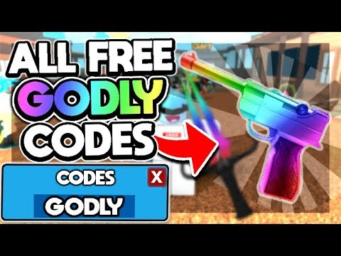 ALL *40+* GODLY CODES In MURDER MYSTERY 3!   Roblox