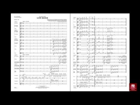 Low Rider arranged by Michael Brown
