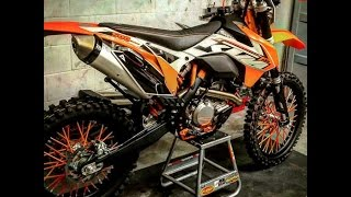 ktm 500 exc 690 enduro husqvarna fe 501 trail ride vacation man trip to ocala national forest