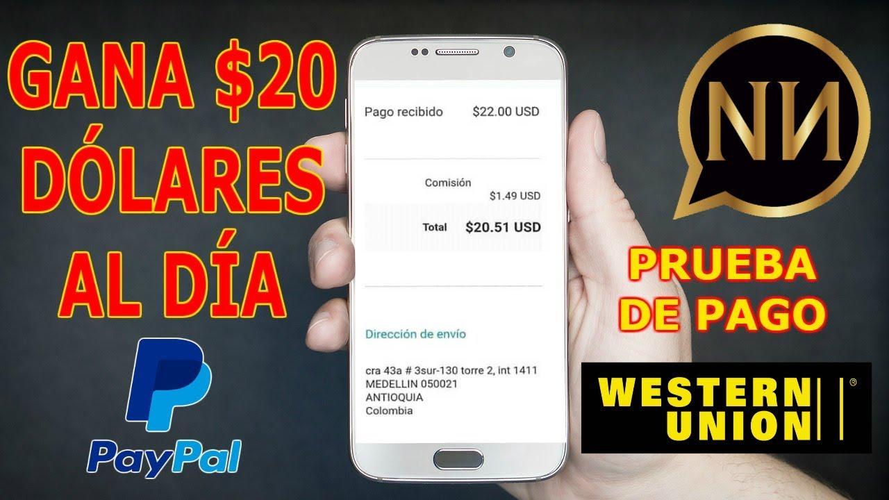 Napoleon Mejor App Para Ganar Dinero Rápido A Paypal Y Western Union Gratis Prueba De Pago Youtube