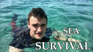 Deserted Island Sea Extreme Survival - Lost & Shipwrecked on Mediterrain Scenario