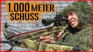 """""""Survival Mattin"""" 1.000 Meter SNIPER Schuss mit ARMBRUST auf KEN möglich?"""
