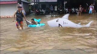 Koh Samui Thailand floods january 2017 ✔